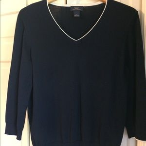 Brooks Brothers Classic V-Neck Sweater